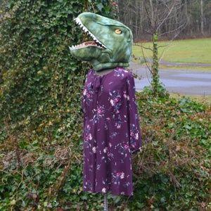 Modcloth Jessy B 2X/3X Tie Neck Fit & Flare Dress